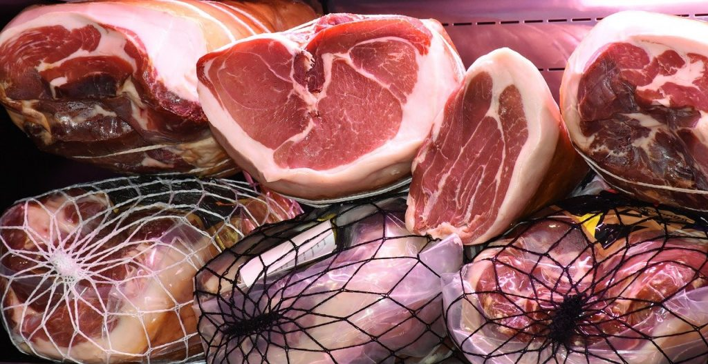 stacked hams